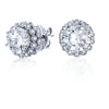18K White Gold Diamond Stud Jackets