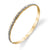 14K YELLOW AND WHITE GOLD HAWAIIAN HEIRLOOM BANGLE