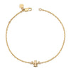 14K Yellow Gold Kids Angel Bracelet