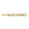 14K Yellow Gold Classical 9.4mm Figaro Chain
