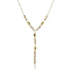 14K Yellow gold fancy necklace 17""
