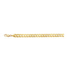 14K YELLOW GOLD 5.7MM CURB CHAIN