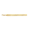 14K Yellow Gold 6.9mm Curb Chain