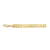 14K YELLOW GOLD 8MM CURB CHAIN