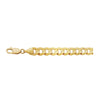 14K Yellow Gold 9.7mm Curb Chain