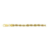 14K Yellow Gold 3.5mm Diamond Cut Rope Chain