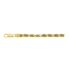 14K Yellow Gold 4mm Diamond Cut Rope Chain