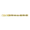 14K Yellow Gold 5mm Diamond Cut Rope Chain