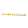14K Yellow Gold 6.8mm Mariner Chain