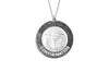 925 STERLING SILVER 15MM ROUND CONFIRMATION MEDAL
