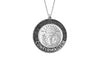 925 STERLING SILVER 12MM ROUND CONFIRMATION MEDAL
