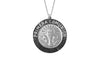925 STERLING SILVER 12MM ROUND FIRST COMMUNION MEDAL