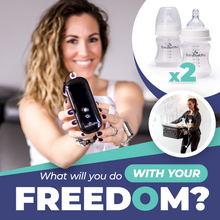 The BabyBuddha Breast Pump is made for portability. That will you do with your Freedom?
