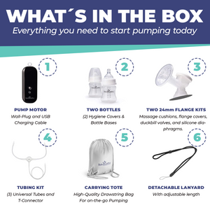 BabyBuddha® Portable Breast Pump Complete Kit