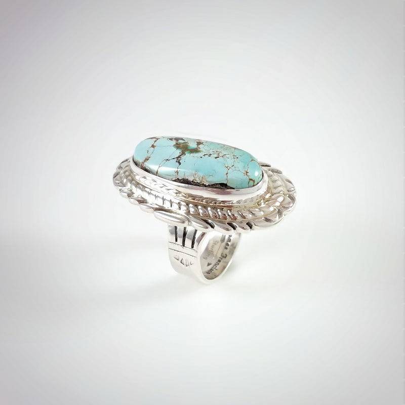 Royston Turquoise Ring by Thomas Francisco