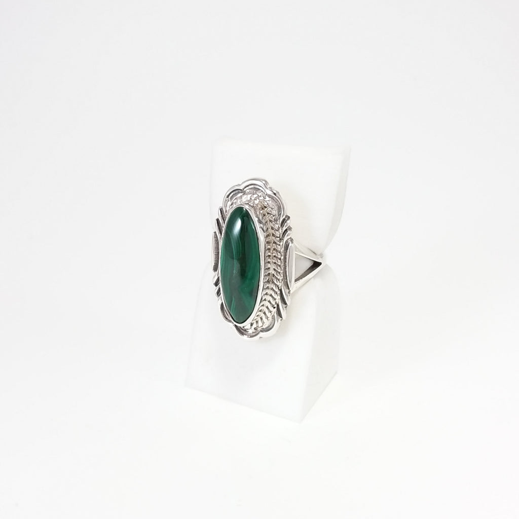 Navajo Malachite Ring