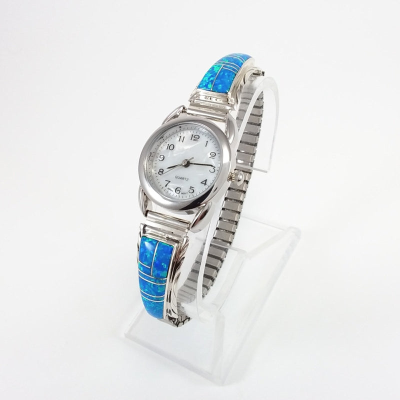 Spiney Oyster/Turquoise Watch