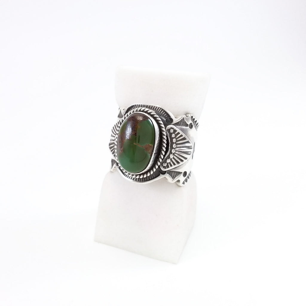 Green Turqouise Ring by Bo Reeves