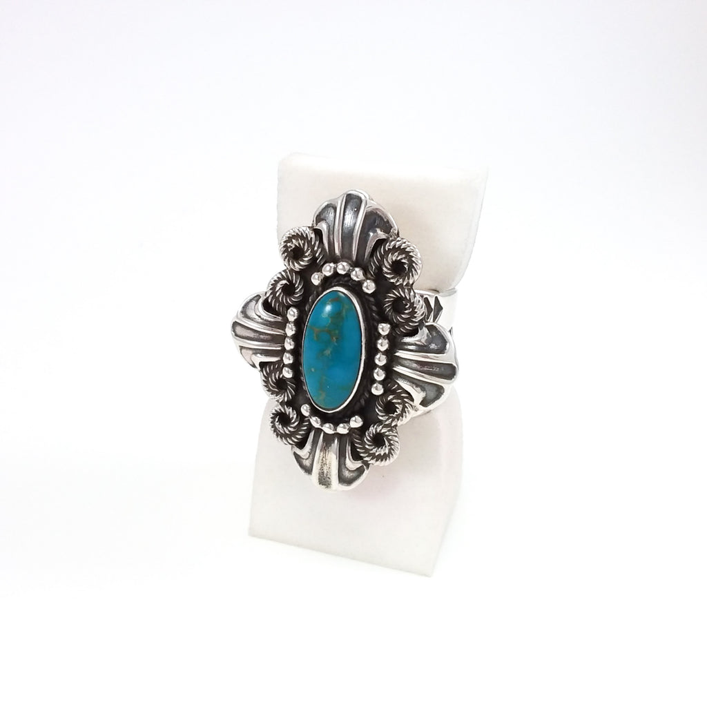 Turquoise Ring by Darrell Cadman