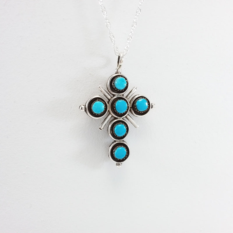 Zuni Inlay Pendant