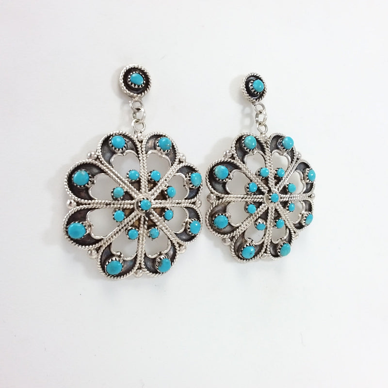 Waylon Johnson Turquoise Earrings