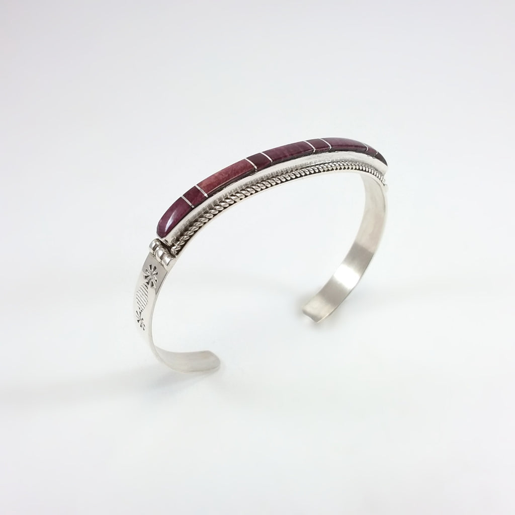 Spiney Oyster Inlay Bracelet