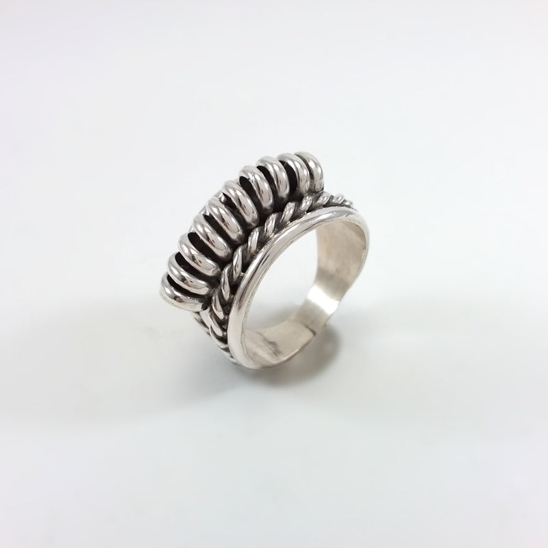 Navajo sterling silver ring.