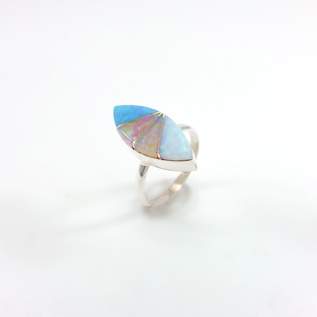 Opal Inlay Ring