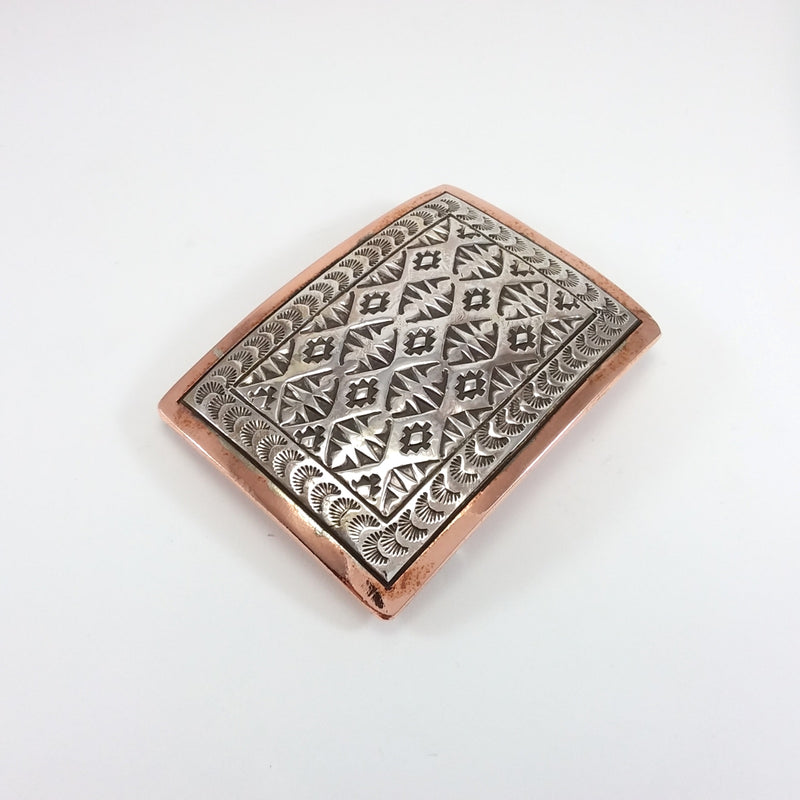 Copper/Silver Buckle