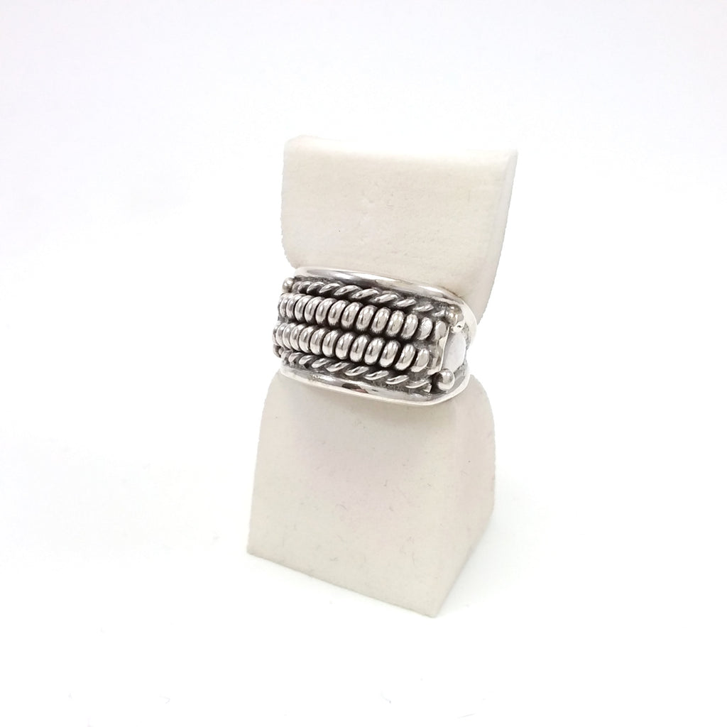Richard Mike Navajo sterling silver ring.