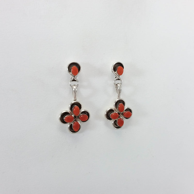 Jeannie Lastiyano Coral Earrings