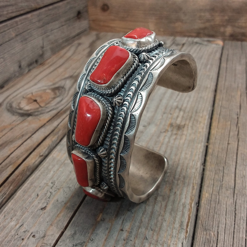 Coral Bracelet By June Delgarito