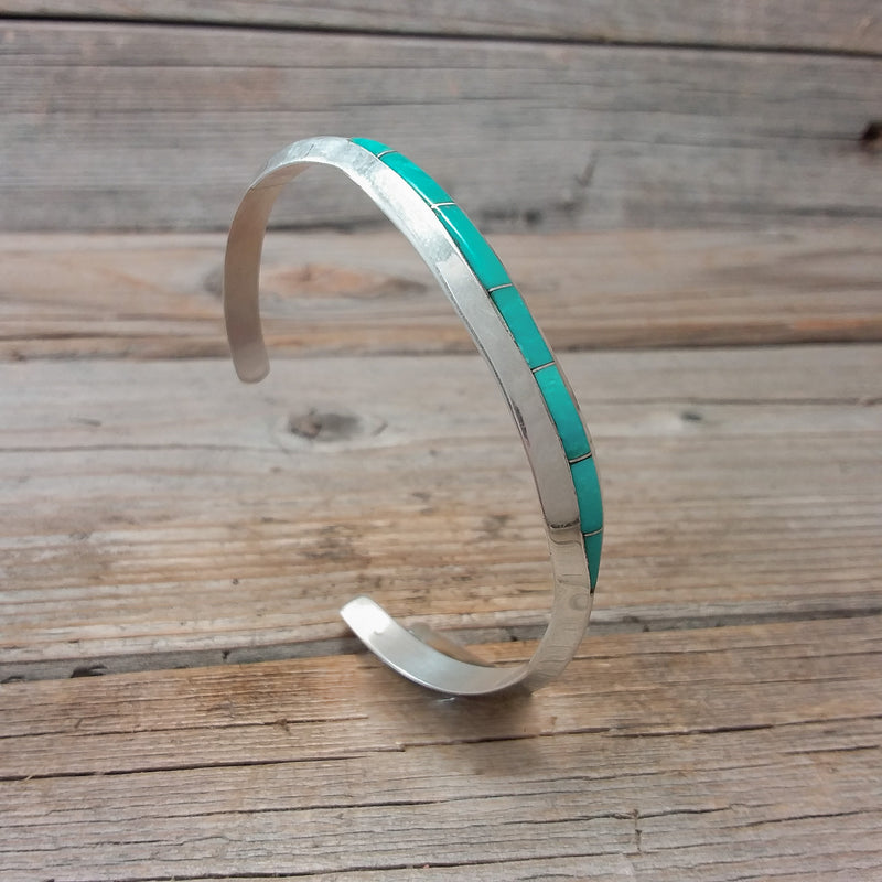 Jamie Johnson Turquoise Inlay Bracelet