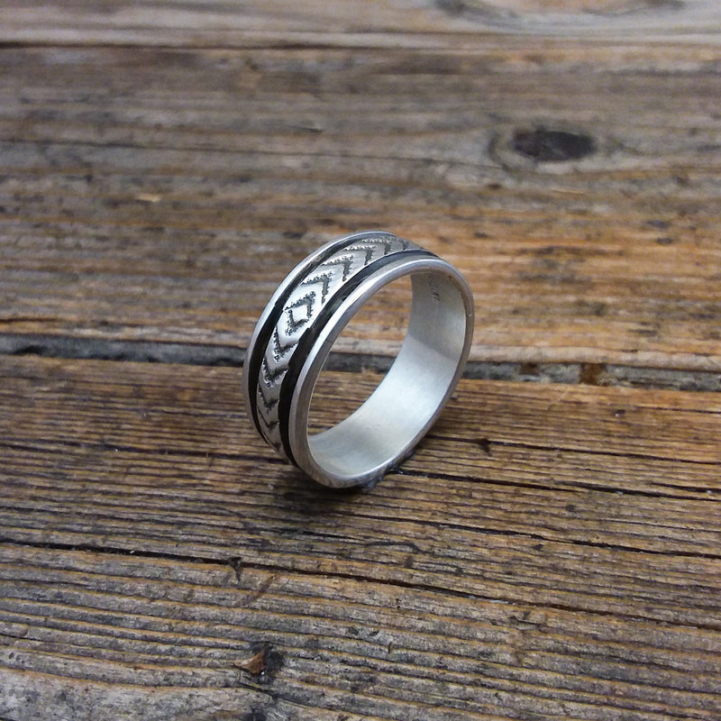 Bruce Morgan Silver Ring