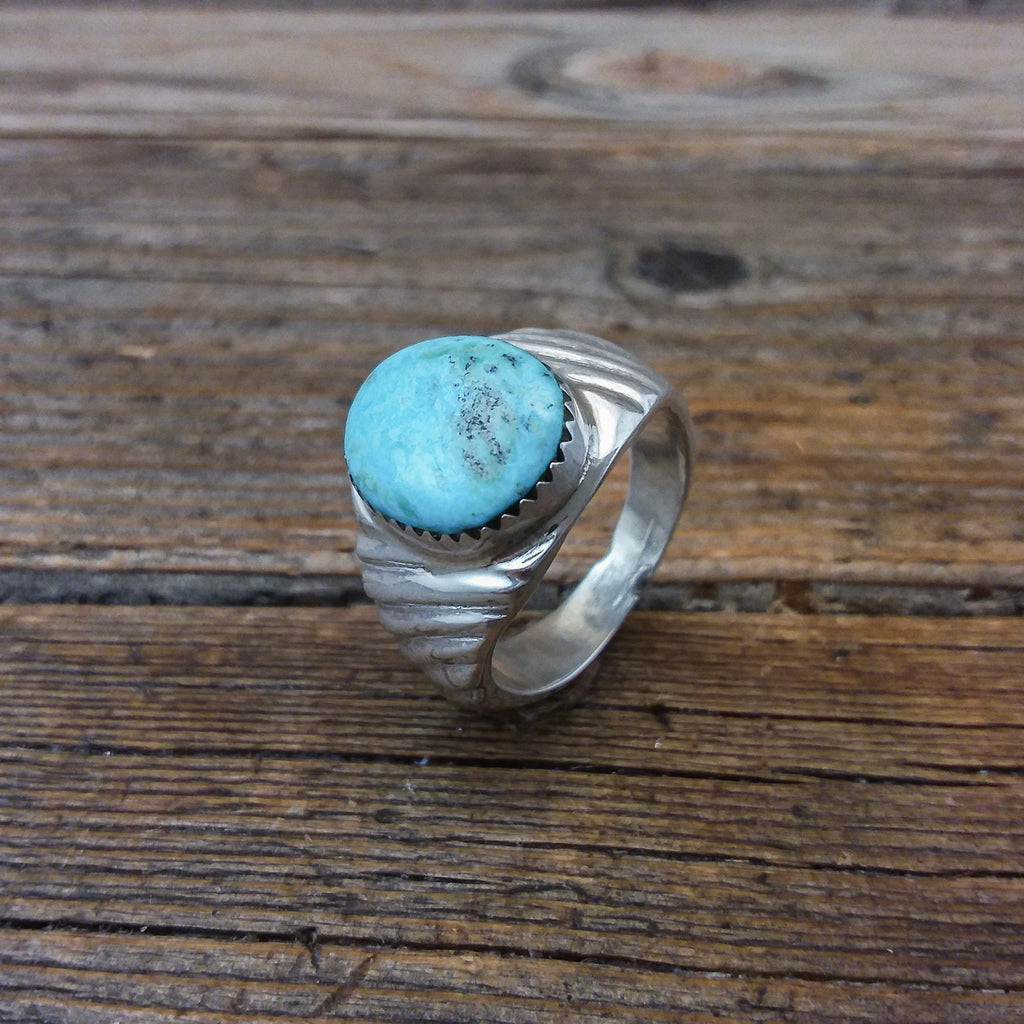 Travis King Turquoise Ring