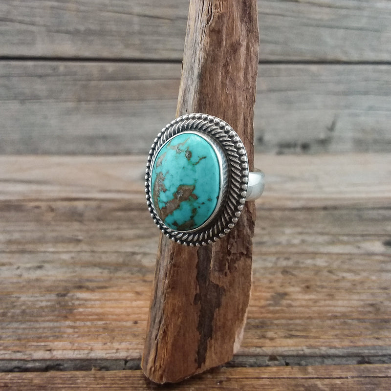 Terry Martinez Turquoise Ring