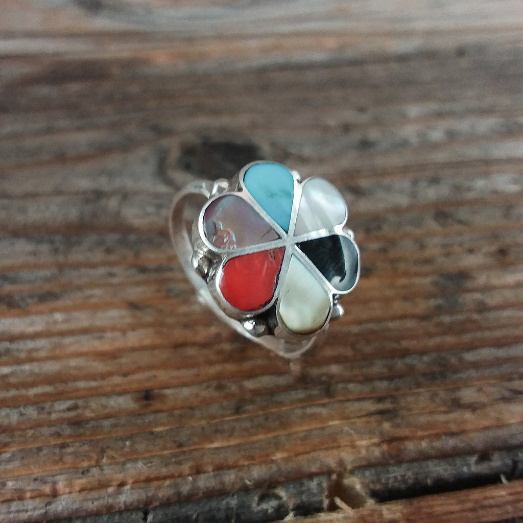 D.S. Zuni Inlay Ring
