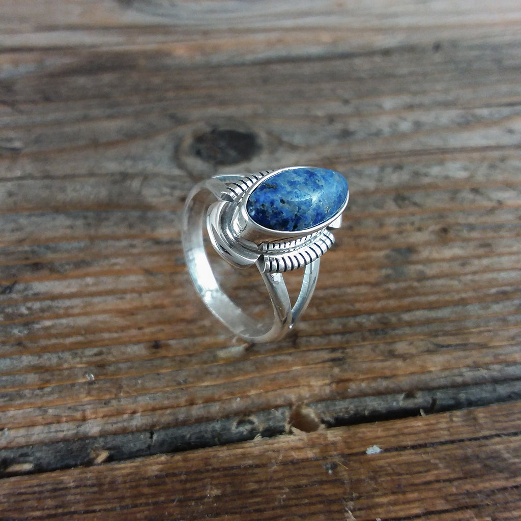 Larry M. Yazzie Lapis Ring