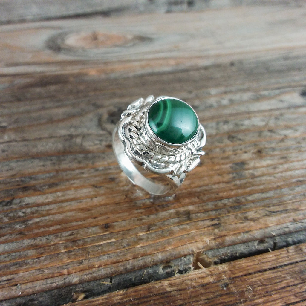 Virgil Chee Malachite Ring