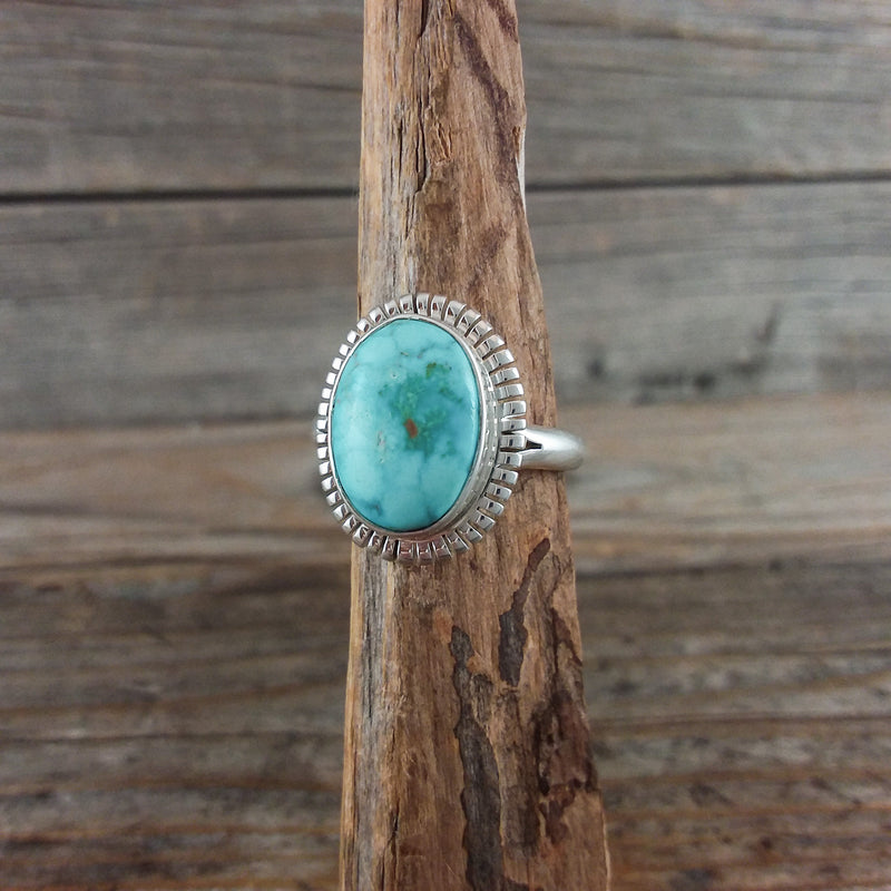 Turquoise Ring by Peggy Skeets