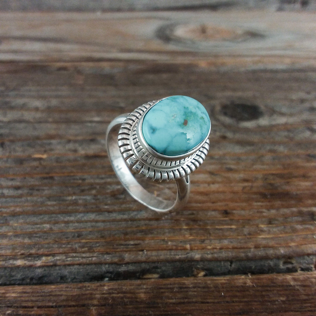 Robert Concho Turquoise Ring