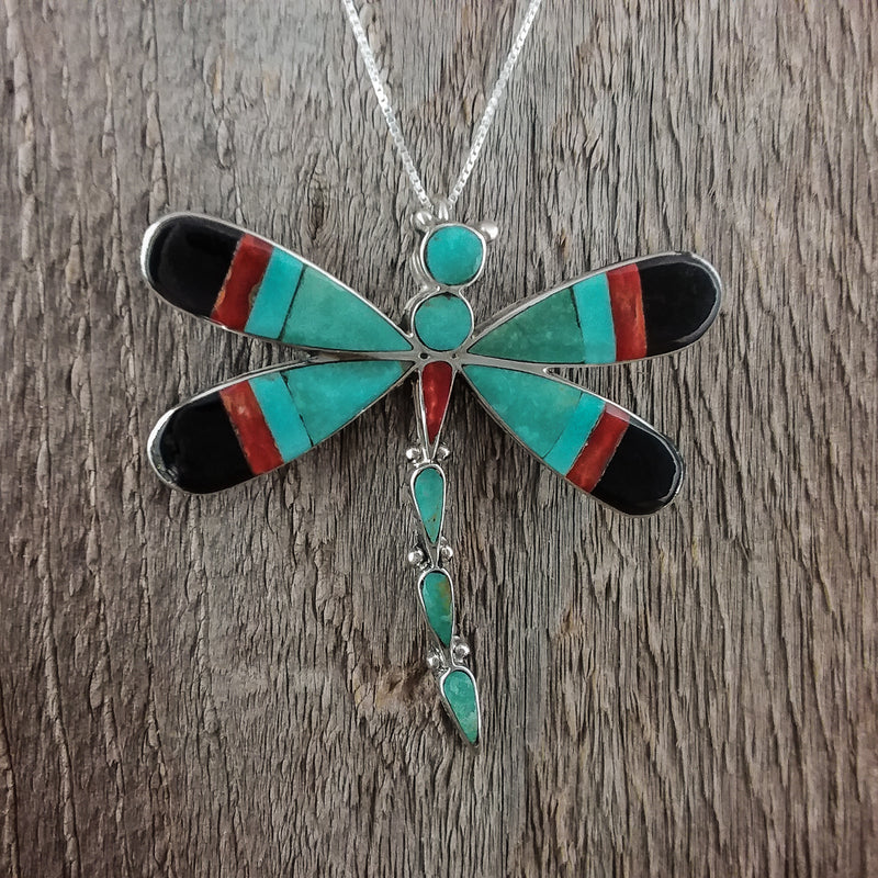 Kokopelli Inlay Pendant