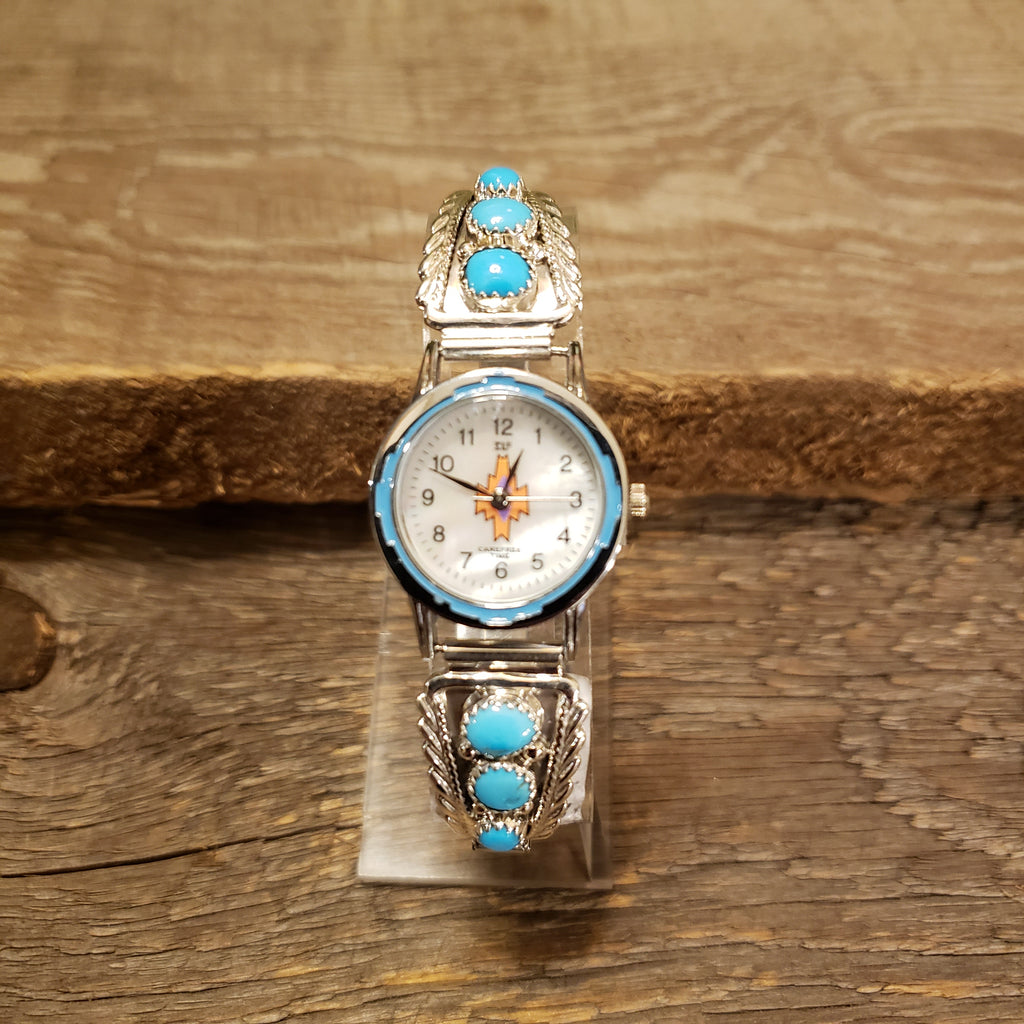 Turquoise Watch - 3 Stone