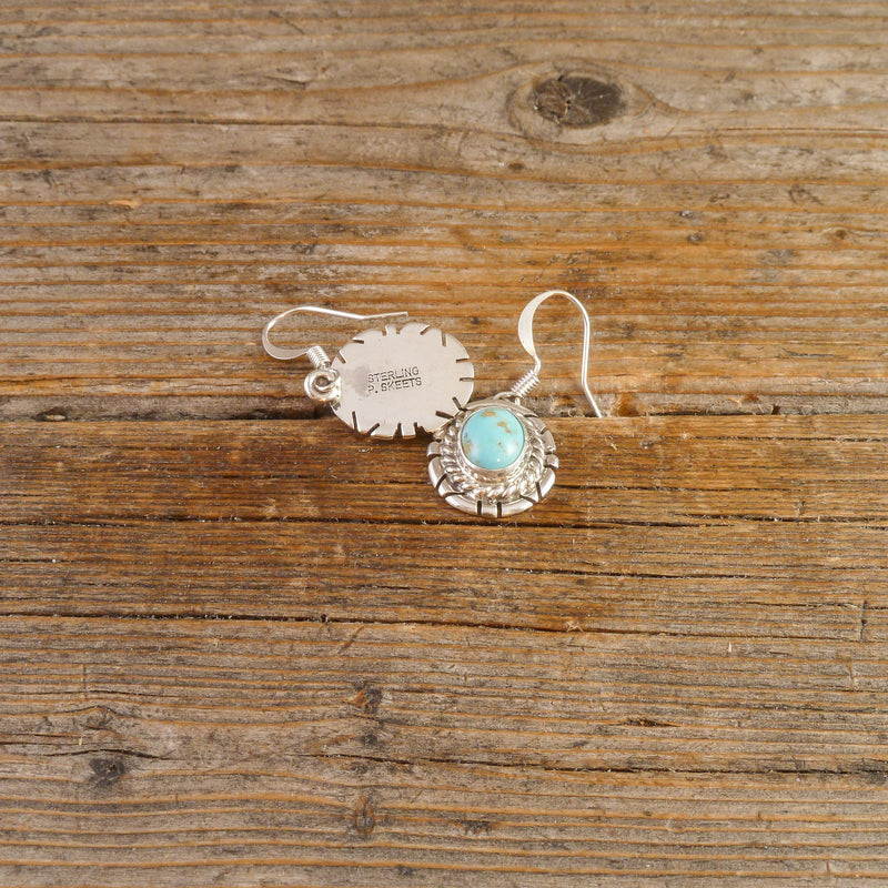 Peggy Skeets Turquoise Earrings