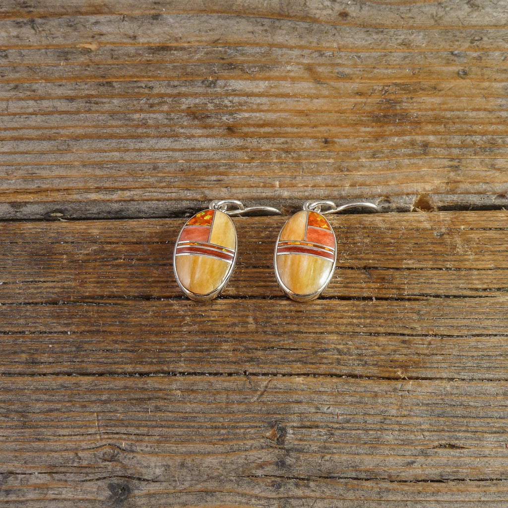 Sheryl Martinez Inlay Earrings