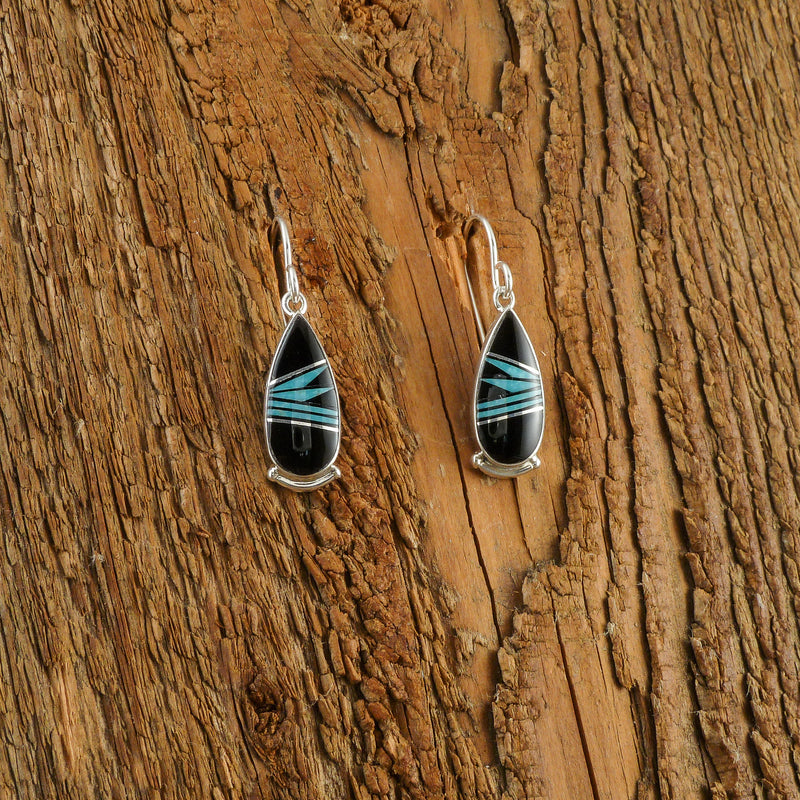Cathy Webster Inlay Earrings