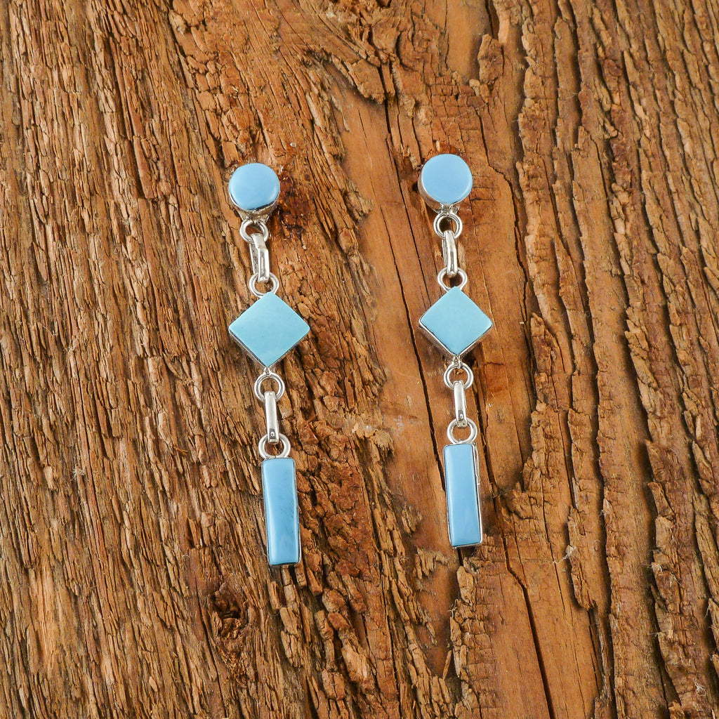 Hanging Turquoise Earrings