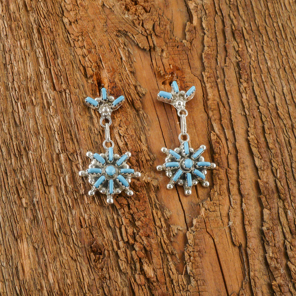 Zuni Needle Point Earrings