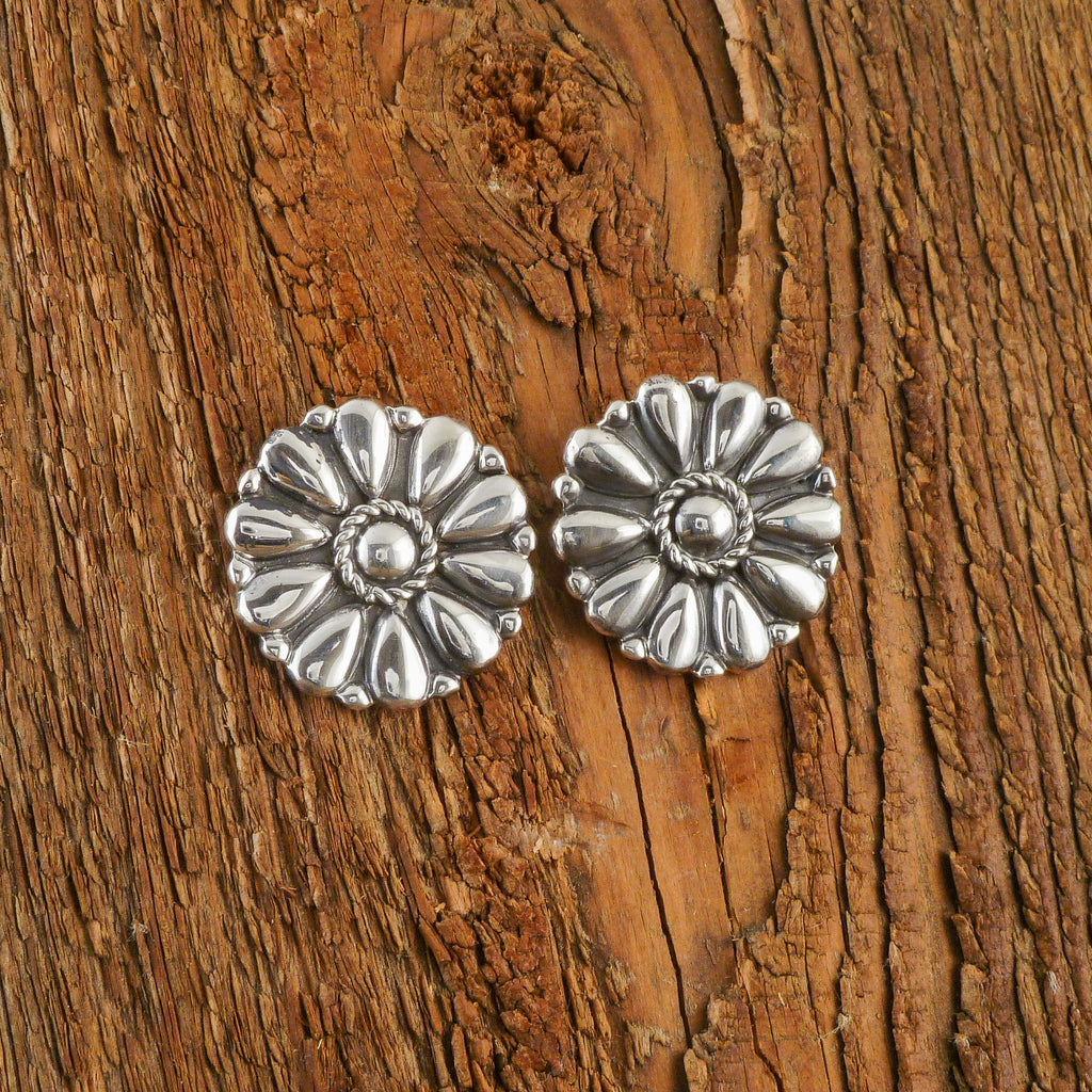 Melvin Francis Silver Earrings