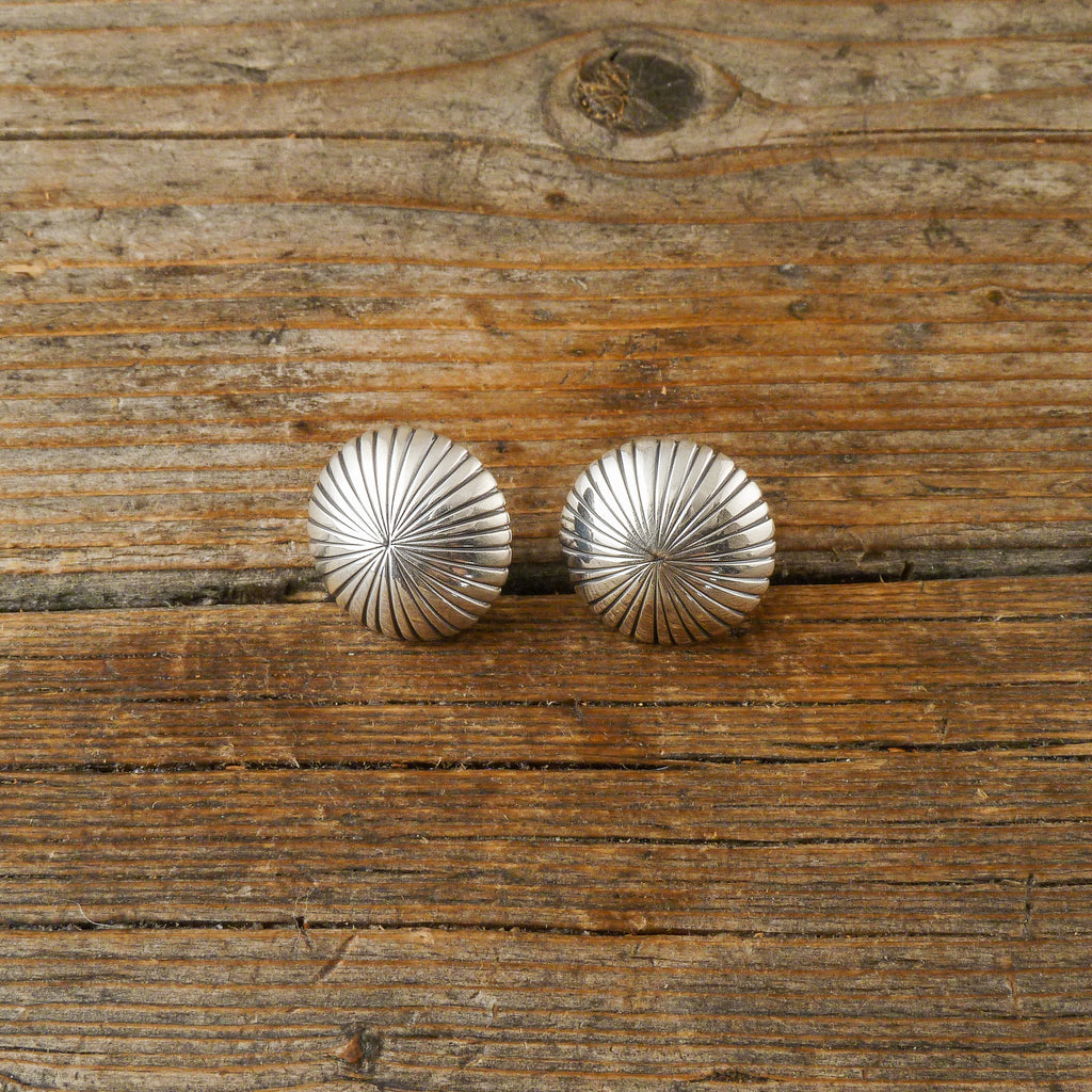 Gene Naton Silver Earrings